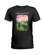 The Mountain Are Calling 2 Ladies T-Shirt tile