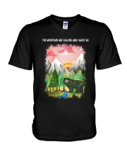 The Mountain Are Calling 2 V-Neck T-Shirt thumbnail