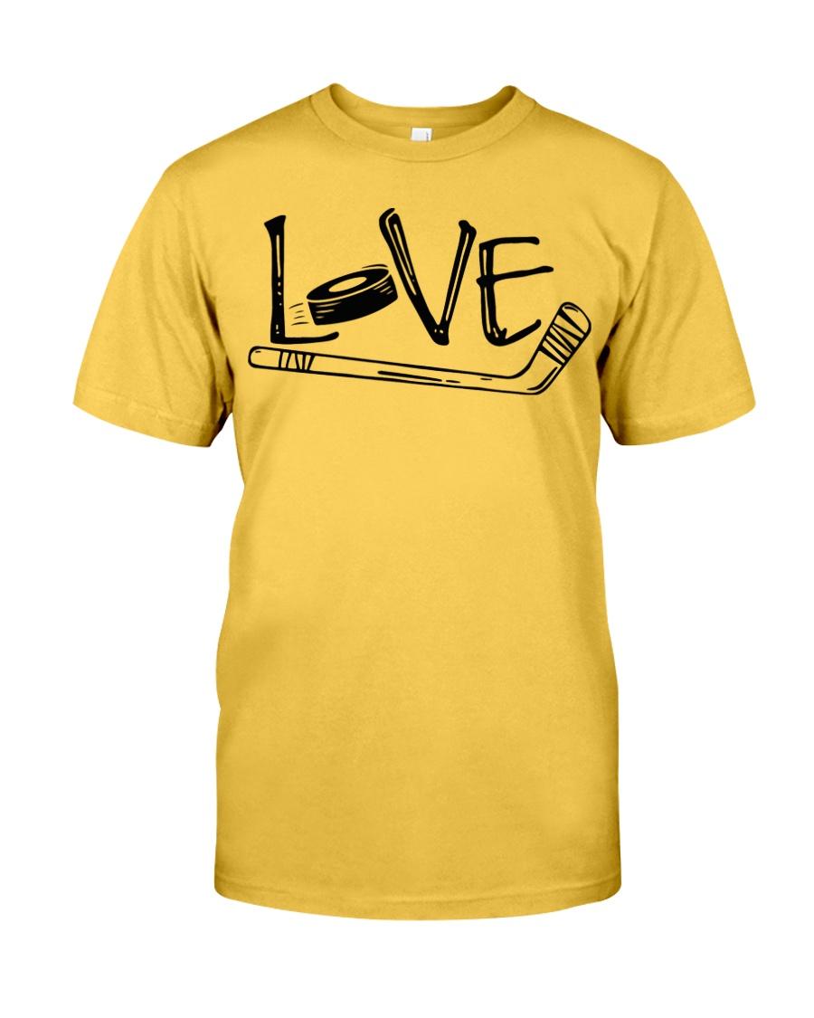 Love Hockey Classic T-Shirt