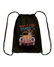 What A Long Strange Trip Drawstring Bag tile