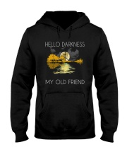 Hello Darkness - My Old Friend Hooded Sweatshirt front