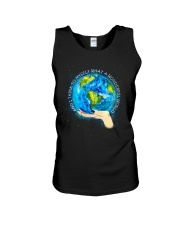 Myself What A Wonderful World Unisex Tank tile