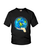 Myself What A Wonderful World Youth T-Shirt thumbnail