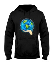Myself What A Wonderful World Hooded Sweatshirt tile