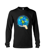 Myself What A Wonderful World Long Sleeve Tee tile