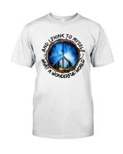 Myself What A Wonderful World 1 Classic T-Shirt thumbnail