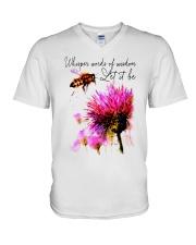 Whisper Words Of Wisdom 3 V-Neck T-Shirt thumbnail