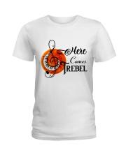 Here Comes Treble Ladies T-Shirt thumbnail