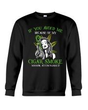 If You Avoid Me Crewneck Sweatshirt thumbnail