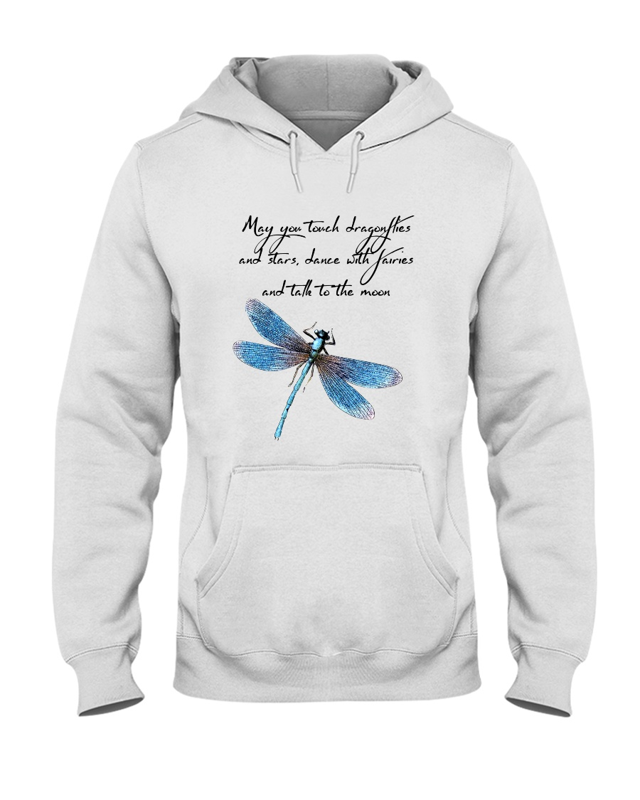 May You Touch Dragonflies Hooded Sweatshirt