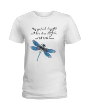 May You Touch Dragonflies Ladies T-Shirt thumbnail