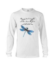 May You Touch Dragonflies Long Sleeve Tee thumbnail