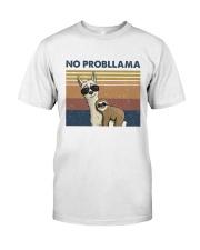 No Probllama Classic T-Shirt thumbnail