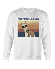 No Probllama Crewneck Sweatshirt thumbnail