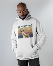 No Probllama Hooded Sweatshirt apparel-hooded-sweatshirt-lifestyle-front-09