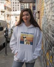 No Probllama Hooded Sweatshirt lifestyle-unisex-hoodie-front-1