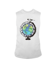 Be Kind In A World 3 Sleeveless Tee thumbnail