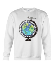 Be Kind In A World 3 Crewneck Sweatshirt thumbnail