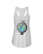 Be Kind In A World 3 Ladies Flowy Tank thumbnail