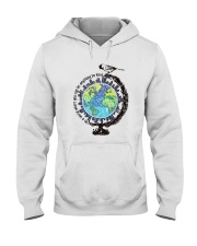Be Kind In A World 3 Hooded Sweatshirt front