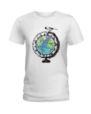Be Kind In A World 3 Ladies T-Shirt thumbnail