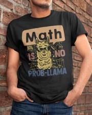 Math Is No Probllama Classic T-Shirt apparel-classic-tshirt-lifestyle-26