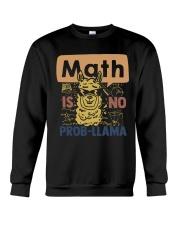 Math Is No Probllama Crewneck Sweatshirt thumbnail