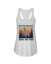 Eff You See Kay Ladies Flowy Tank thumbnail