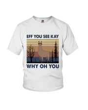 Eff You See Kay Youth T-Shirt thumbnail