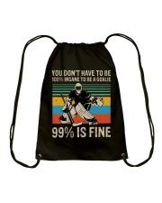 99 Percent Is Fine Drawstring Bag thumbnail
