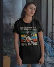 99 Percent Is Fine Classic T-Shirt apparel-classic-tshirt-lifestyle-08