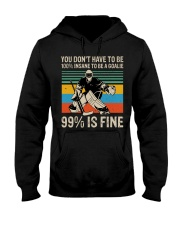 99 Percent Is Fine Hooded Sweatshirt thumbnail