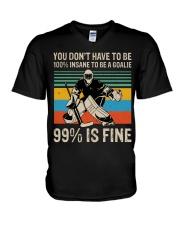 99 Percent Is Fine V-Neck T-Shirt thumbnail