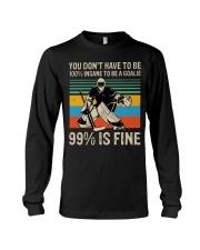 99 Percent Is Fine Long Sleeve Tee thumbnail