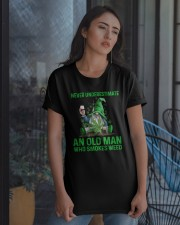 An Old Man Who Smokes Weed Classic T-Shirt apparel-classic-tshirt-lifestyle-08