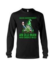 An Old Man Who Smokes Weed Long Sleeve Tee thumbnail