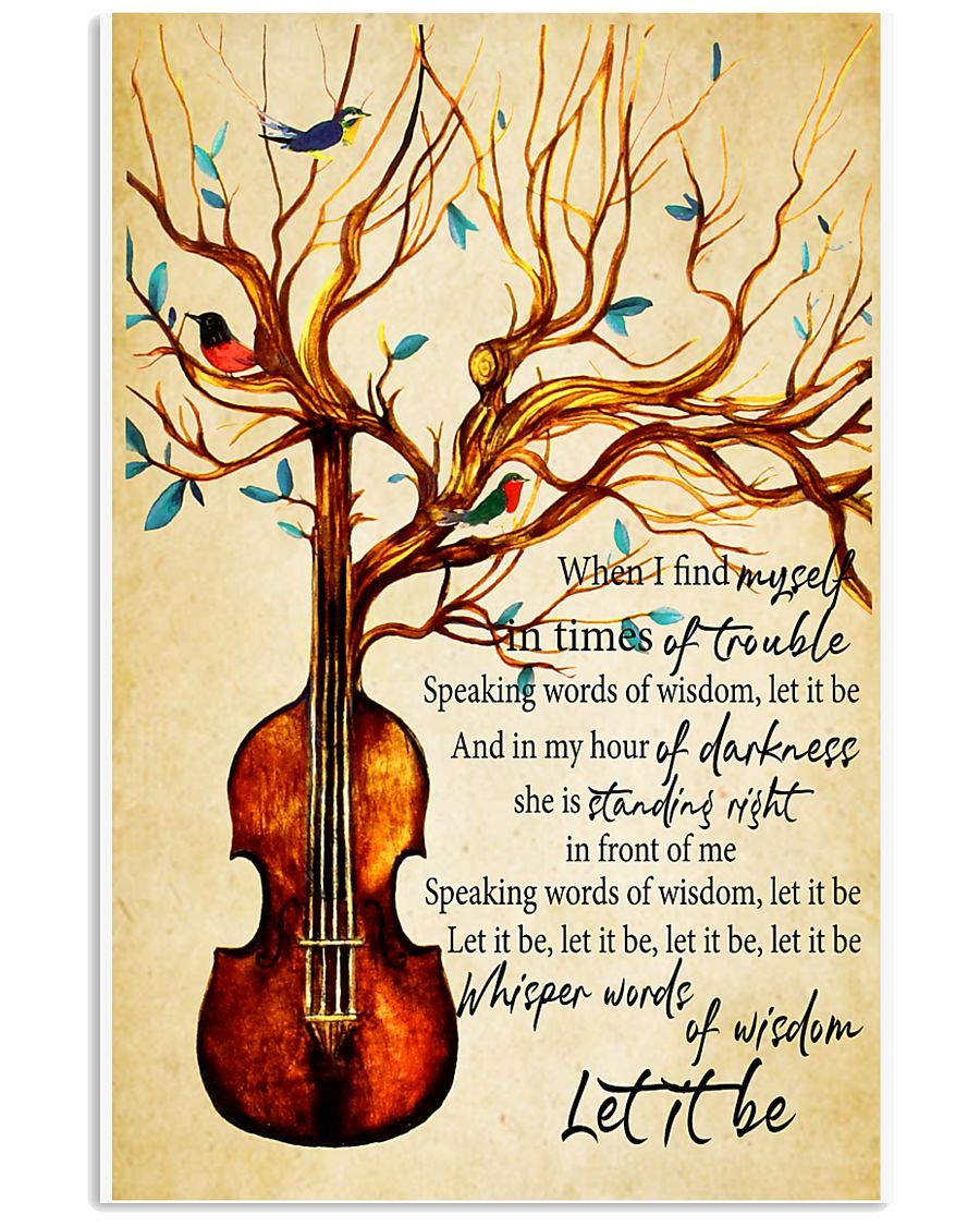 Let It Be 11x17 Poster