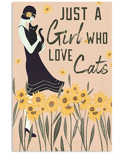 Just A Girl Who Loves Cat