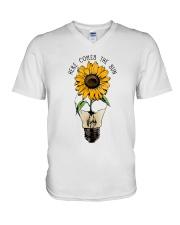 Here Comes The Sun V-Neck T-Shirt thumbnail