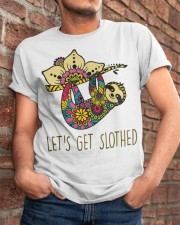 Let Get Slothed Classic T-Shirt apparel-classic-tshirt-lifestyle-26