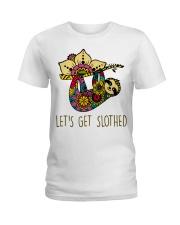 Let Get Slothed Ladies T-Shirt thumbnail