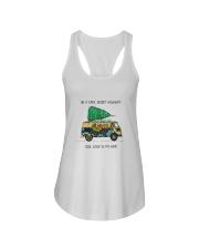 On A Dark Desert Highway Ladies Flowy Tank thumbnail