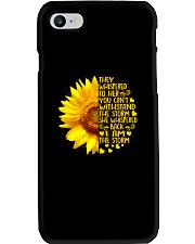 I Am The Storm Phone Case thumbnail