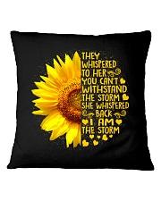 I Am The Storm Square Pillowcase thumbnail