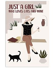 Cats And Wine 11x17 Poster front