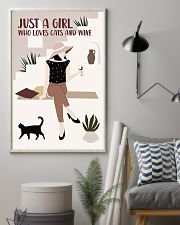 Cats And Wine 11x17 Poster lifestyle-poster-1