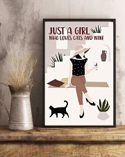 Cats And Wine 11x17 Poster lifestyle-poster-3