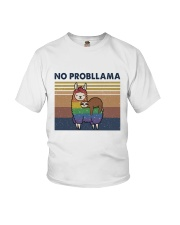 No Probllama Youth T-Shirt thumbnail
