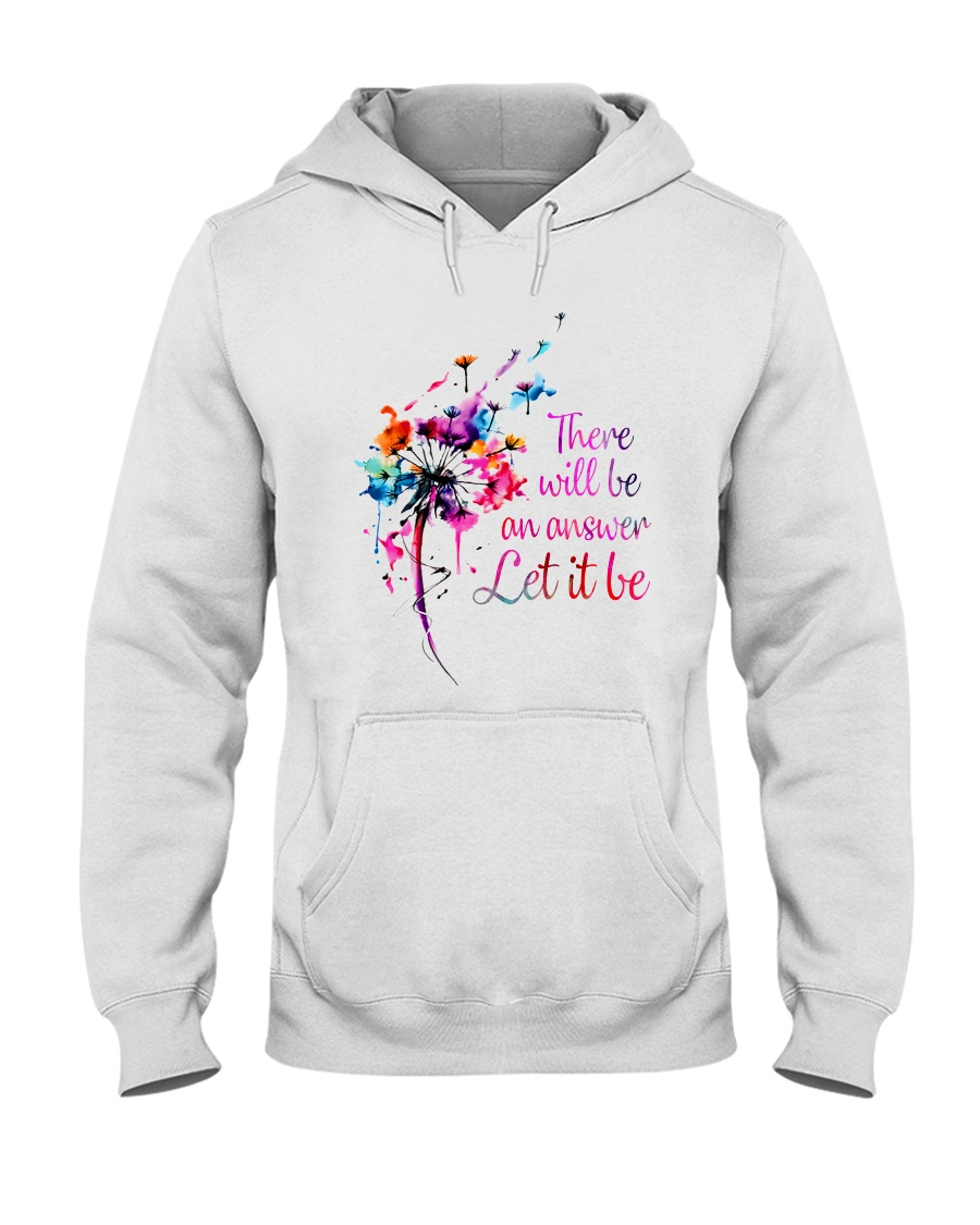 There Will Be An Answer 2 Hooded Sweatshirt