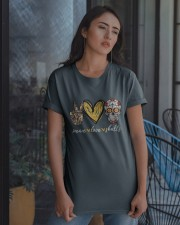 Peace Love Skulls Classic T-Shirt apparel-classic-tshirt-lifestyle-08
